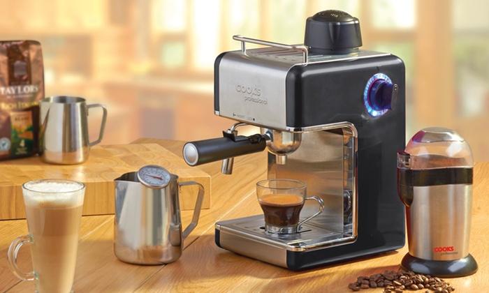 groupon espresso machine