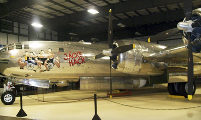 New England Air Museum - Near Bradley International Airport: Visit for Two or Four to the New England Air Museum (Up to Half Off)