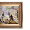 Manet's Rue Mosnier with Road Menders Hand Painted Oil Reproduction