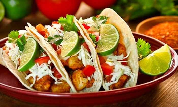 Bajio Mexican Grill - Multiple Locations: $4 for $8 Worth of Mexican Fare at Bajio Mexican Grill. Three Locations Available.