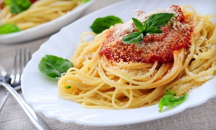 Ciao! Bella or Perazelli's - Downtown Lee's Summit: $15 for $30 Worth of Italian Cuisine and Drinks at Ciao! Bella or Perazelli's