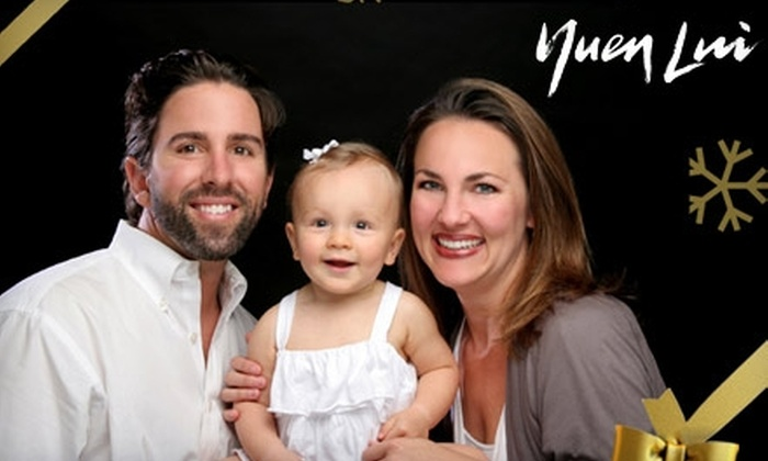 Yuen Lui Studio - Multiple Locations: $49 for a Family Portrait Plan from Yuen Lui Studio (a $99.95 Value)