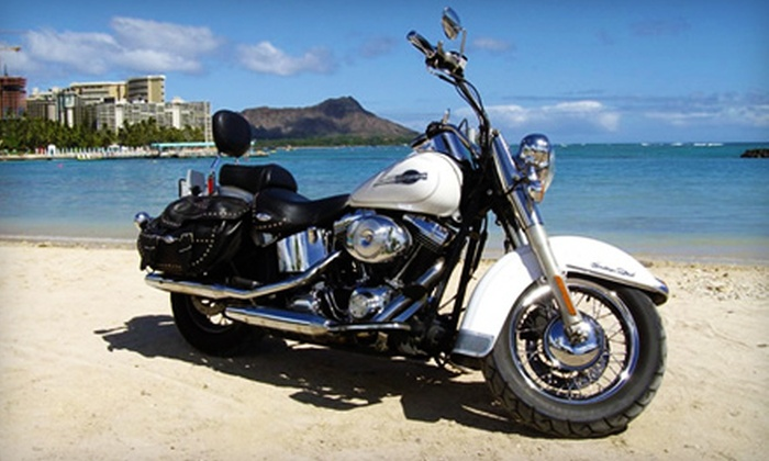 Paradise Rent-a-Car - Waikiki: $60 for an Eight-Hour Motorcycle Rental from Paradise Rent-a-Car ($140 Value)