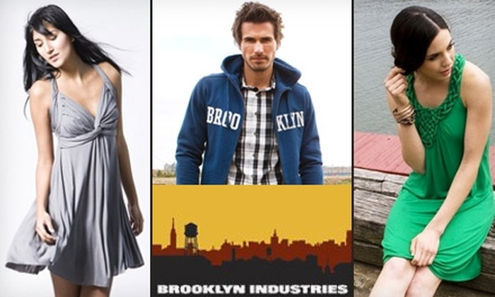 Brooklyn Industries - Center City West: $20 for $40 Worth of Stylish Apparel and Accessories at Brooklyn Industries