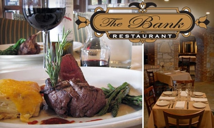 The Bank Restaurant & Bar - Wheaton: $20 for $40 Worth of Fine American Cuisine at The Bank Restaurant & Bar in Wheaton