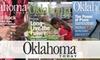 """<i>Oklahoma Today</i> Magazine - Oklahoma City: $8 for a One-Year Subscription to """"Oklahoma Today"""" Magazine (Up to $27.90 Value)"""