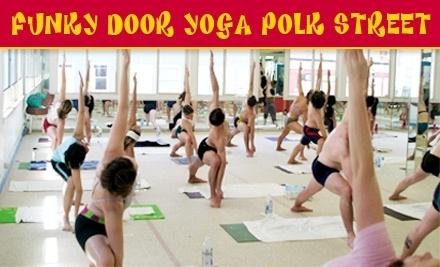 Funky Door Yoga Polk Street - Funky Door Yoga Polk Street in San Francisco