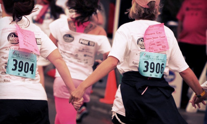 Greater Cincinnati Affiliate of Susan G. Komen for the Cure - Central Business District: Race for the Cure Registration from Greater Cincinnati Affiliate of Susan G. Komen for the Cure (up to $40 Value)