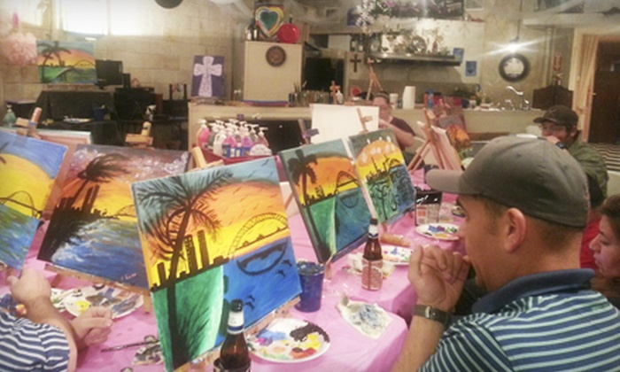 Bubbles N Brushes - Portland: BYOB Painting Class for One or Two at BubblesNBrushes (Up to 52% Off)