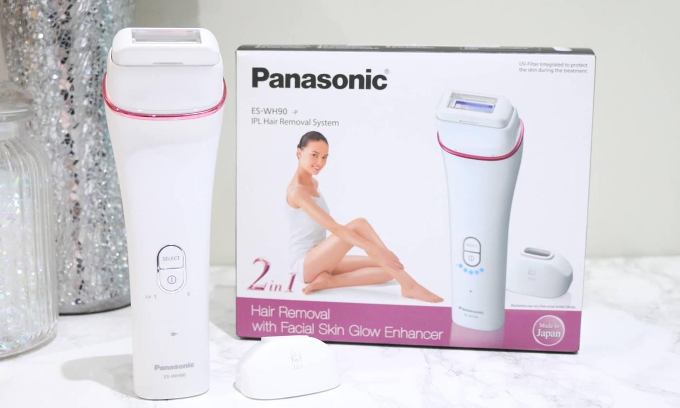 Panasonic ES-WH90 Cordless IPL Hair Removal