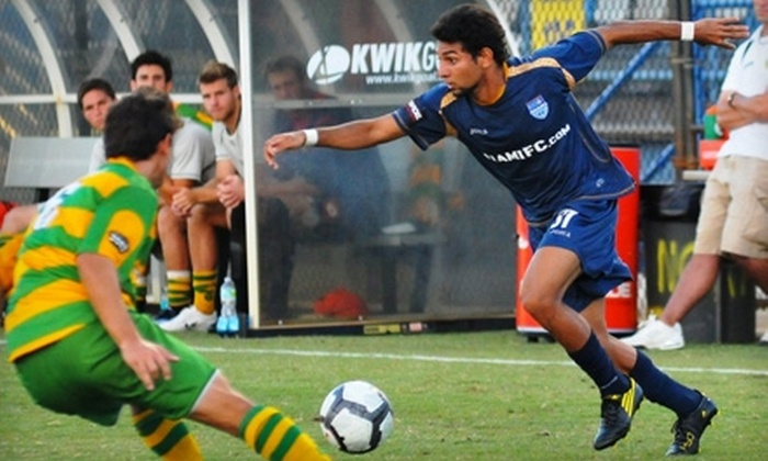 Fort Lauderdale Strikers Soccer - Fort Lauderdale: $15 for Ticket, Parking Pass, and Pregame Sideline Pass for Fort Lauderdale Strikers Soccer ($33 Value). Three Games Available.