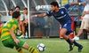 Fort Lauderdale Strikers Soccer - North Fort Lauderdale: $15 for Ticket, Parking Pass, and Pregame Sideline Pass for Fort Lauderdale Strikers Soccer ($33 Value). Three Games Available.