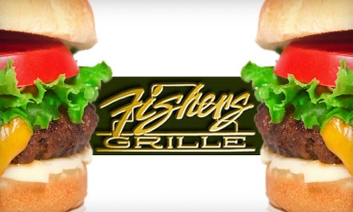 Fishers Grille - Fisher Park: $10 For $20 Worth of Burgers, Sandwiches, Wings, and Sides at Fishers Grille in Greensboro
