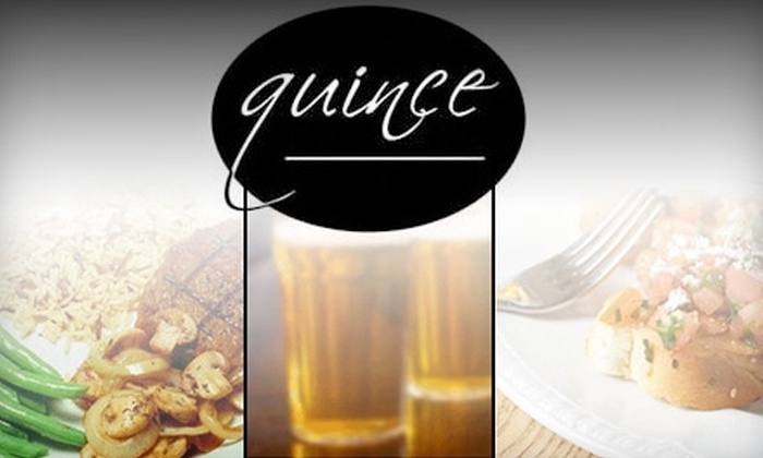 Quince Restaurant at Grand Pacific Junction - Olmsted Falls: $20 for $40 Worth of Bistro Fare at Quince Restaurant in Olmsted Falls