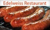Edelweiss Restaurant (IN) - Hill Valley Estates: $25 for $50 Worth of German Fare and Drinks Plus a One-Year Family Membership to The German-American Klub at Edelweiss Restaurant