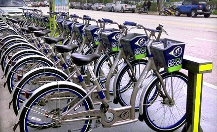 DecoBike: 3-Month Deluxe Bike-Sharing Membership (a $100 value) - DecoBike in Miami Beach
