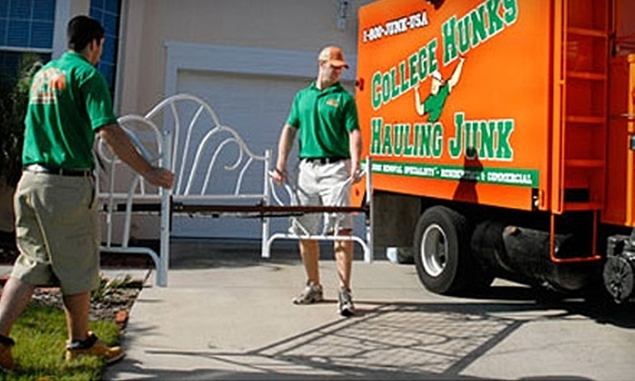 College Hunks Hauling Junk - NoLita: $130 for Two Hours of Home Services ($269 Value) or $150 for Junk Removal ($300 Value) from College Hunks Hauling Junk