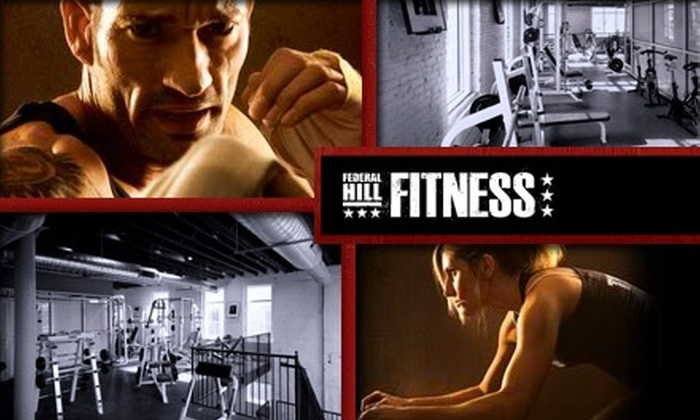 Federal Hill Fitness - Federal Hill-Montgomery: $20 for a Two-Month Membership and Personal Training Session at Federal Hill Fitness