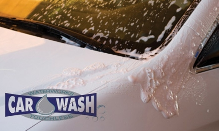 Waterworks Car Wash - Jersey City: $20 for Three Ultimate Car Washes at Waterworks Car Wash ($48 Value)