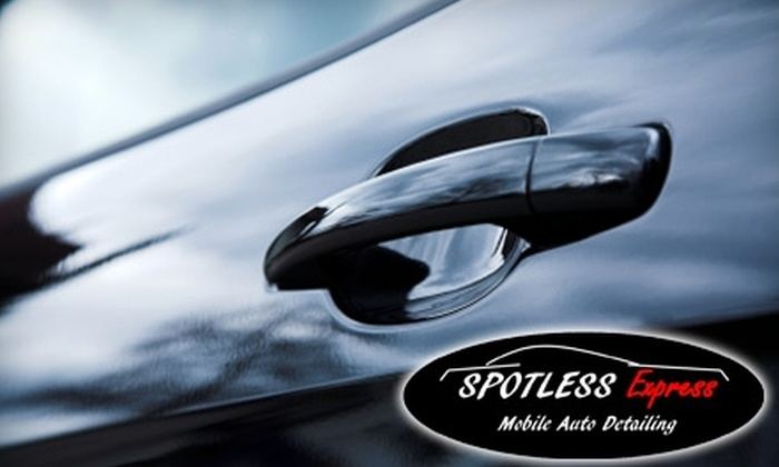 Spotless Express Auto Detailing - Richmond: $49 for Complete Bumper-to-Bumper Detail Service From Spotless Express Auto Detailing (a $139.95 Value)