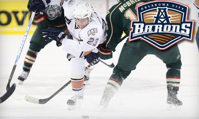Oklahoma City Barons - Downtown Oklahoma City: $12 for One Ticket, T-Shirt, and Team Store Discount for Oklahoma City Barons ($34 Value)