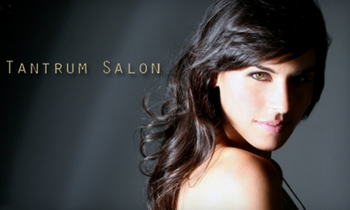 Tantrum Salon - Covina-Valley: $30 for a Women's Haircut (Up to $70 Value) or $15 for a Men's Haircut (Up to $35 Value) at Tantrum Salon in Covina