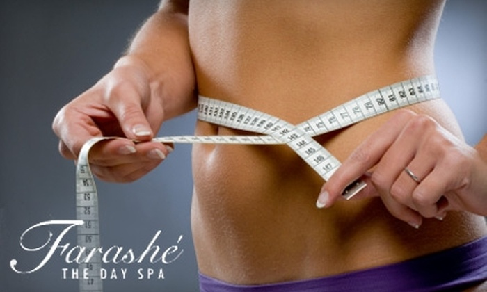Farashé The Day Spa - Downtown Columbia: $74 for White Science Express Teeth Whitening ($149 Value) at Farashé The Day Spa in Columbia or $65 for Lipo-Fitness Slimming and Anti-Cellulite Body Wrap ($135 Value)