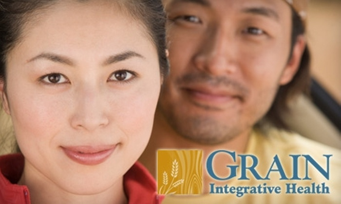 Grain Integrative Health, LLC - Sunnyside: $60 for Nutritional-Intake Consultation and Choice of Holistic Services at Grain Integrative Health (Up to $426 Value). Choose from Four Options.
