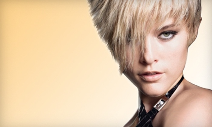 Atomic Hair Studio - Delta: Hair Services at Atomic Hair Studio in Delta. Three Options Available.