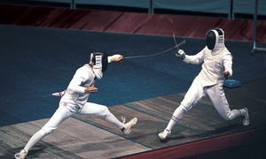 The Fencing Center: Four or Six Introductory Fencing Classes at The Fencing Center (Up to 62% Off)