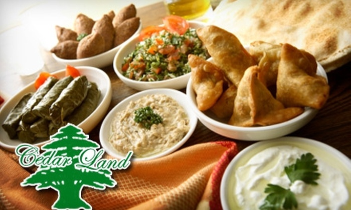 Cedarland Bakery & Restaurant - Riverside: $7 for $15 Worth of Middle Eastern and Lebanese Cuisine at CedarLand Bakery and Restaurant
