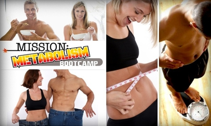 Mission: Metabolism Bootcamp - Multiple Locations: $55 for Up to Seven Weeks of Boot Camp and a Goal-Setting Session at Mission: Metabolism Bootcamp ($274 Value)