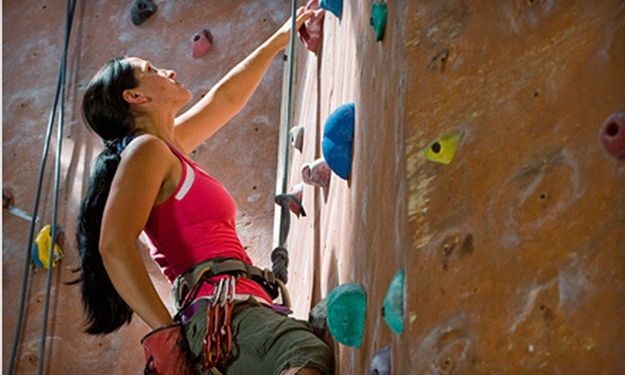 Wild Walls Indoor Climbing Gym - Riverside: Vertical-Introduction Class with One-Week or One-Month Membership at Wild Walls Indoor Climbing Gym (Up to 57% Off)