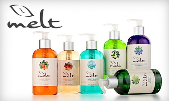 Melt's online boutique: $25 for $50 Worth of Bath and Skincare Products from Melt's Online Boutique