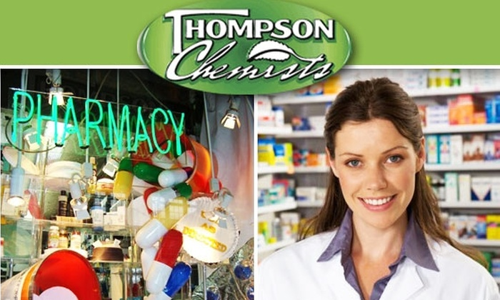 Thompson Chemists - SoHo: $10 for $30 Worth of Natural Health and Beauty Products at Thompson Chemists