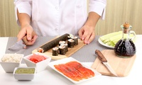 Sushi Making Class with Refreshments for One or Two at London Cookery School (Up to 65% Off)