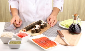 London Cookery School: Sushi Making Class with Refreshments for One or Two at London Cookery School (Up to 65% Off)