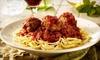 Half Off Italian Cuisine at Spaghetti Warehouse