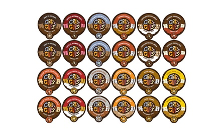 Crazy Cups Chocolate and Flavor Lovers 48-Cup Single-Serve Variety Pack