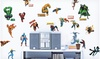 Marvel Heroes Peel-and-Stick Wall Decals: Marvel Heroes Peel-and-Stick Wall Decals