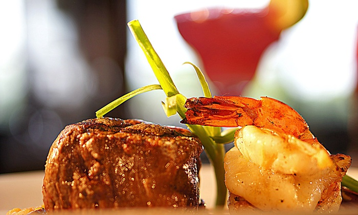 The Prickly Pear - Lake Norman: Modern Mexican Dinner for Two or Four with Appetizer and Drinks at The Prickly Pear (Up to 46% Off)