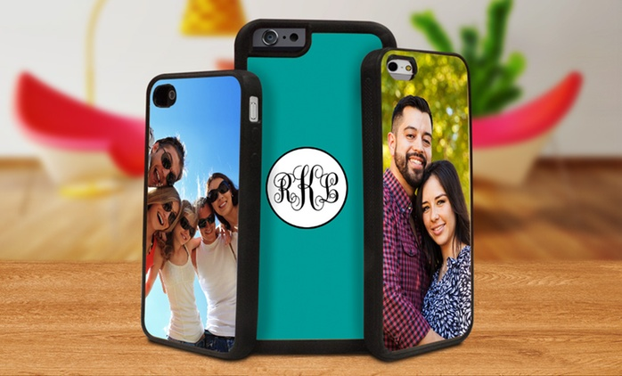 Personalized Silicone iPhone Cases from Picture It on Canvas (Up to 87% Off). Two Options Available.