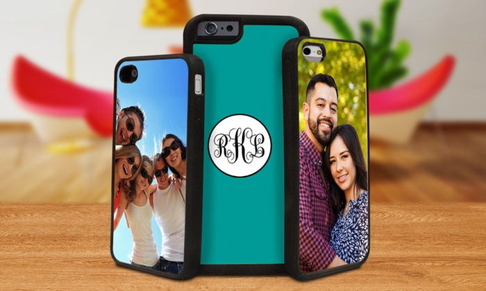 Picture it on Canvas: Personalized Silicone iPhone Cases from Picture It on Canvas (Up to 87% Off). Four Options Available.