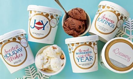 Gourmet Ice Cream Delivery from eCreamery (Up to 63% Off). Four Options Available.