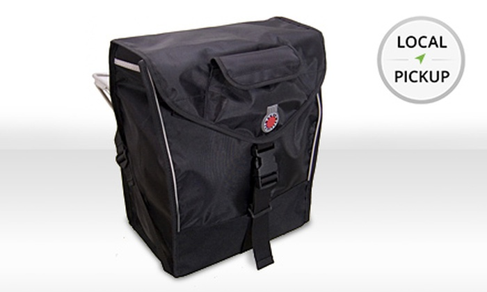 On The Route Bicycles - Lakeview: Banjo Brothers Market Pannier Bag. Pick Up in Store at On the Route Bicycles.