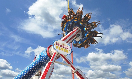 Theme-Park Rides at Steel Pier (Up to 52%). Four Options Available.