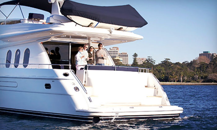 Double Trouble Charters - Newport: $199 for a Two-Hour BYOB Yacht Cruise in Newport Harbor for Two from Double Trouble Charters ($400 Value)
