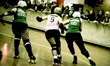 Garden State Rollergirls vs. Rocktown Rollers on Sat., Mar. 10 at 8:15PM: General Admission - Garden State Rollergirls in Wallington