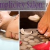 Up to 57% Off Massage or Mani-Pedi