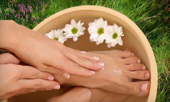 Pure Bliss Day Spa - Jupiter: 90-Minute Mani/Pedi or 60-Minute Scrub and Massage at Pure Bliss Day Spa in Jupiter